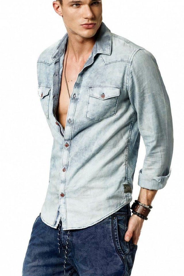 salsa jeans Hemd in Blue