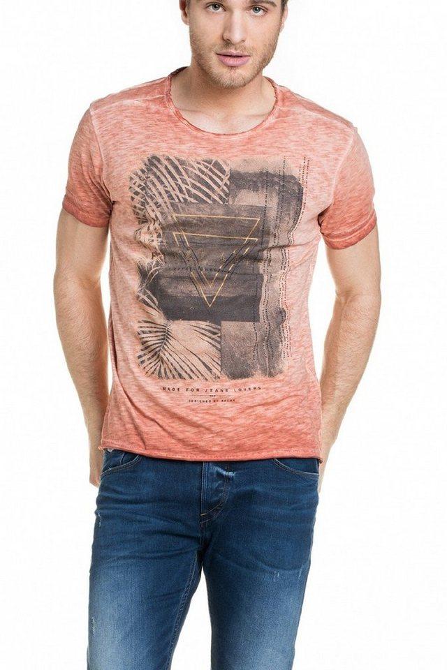 salsa jeans T-Shirt, kurzarm in Orange