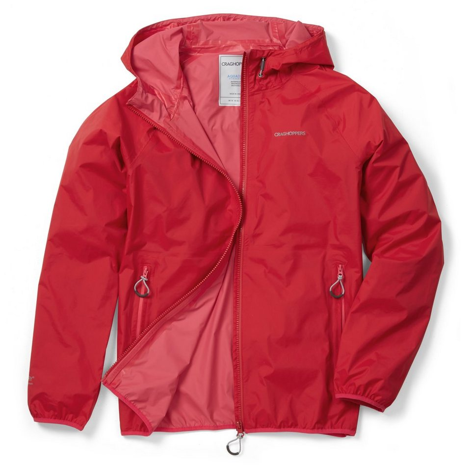 Craghoppers Regenjacke »Pro Lite Waterproof Damen« in Fiesta Red