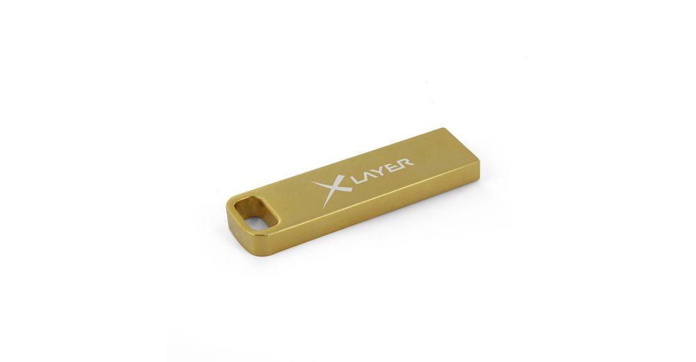 XLayer USB »8GB XLayer Music Stick (+15 Charthits MP3)«