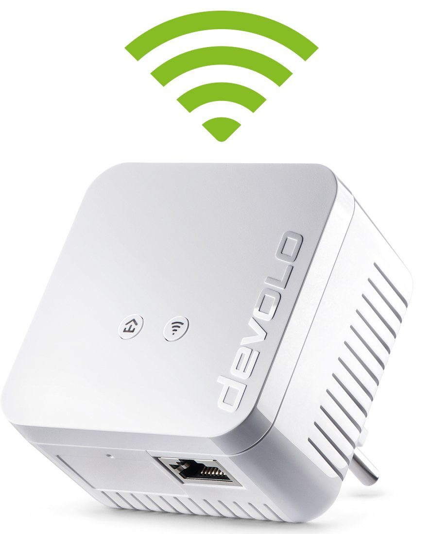 DEVOLO Powerline + WLAN »dLAN 550 WiFi (500Mbit, 1xLAN, Repeater, range+)«