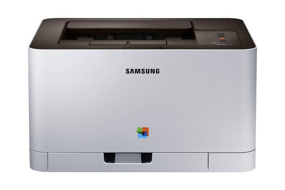 Samsung Farblaser-Drucker »Xpress C430 Color Laser (SL-C430/TEG)« in grau