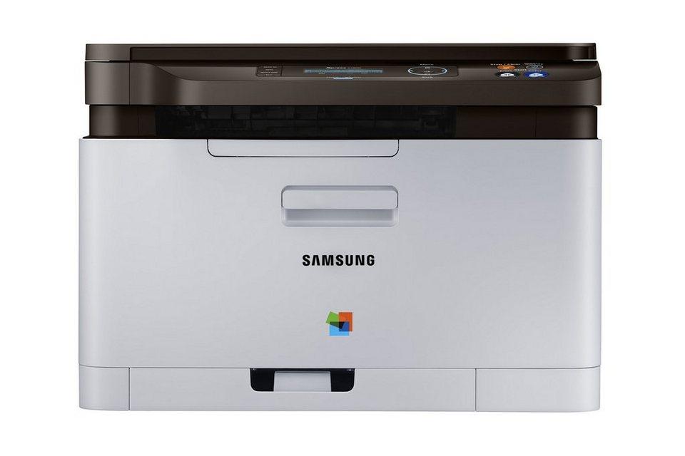 Samsung Farblaser-Drucker »Xpress C480W Color Laser MFP (SL-C480W/TEG)« in grau