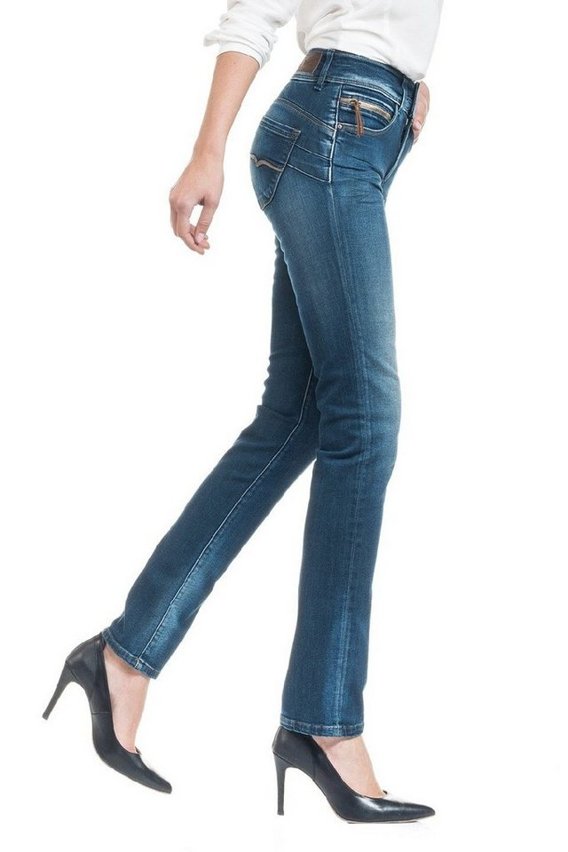 salsa jeans Jean »Push In/ Secret« in Blue