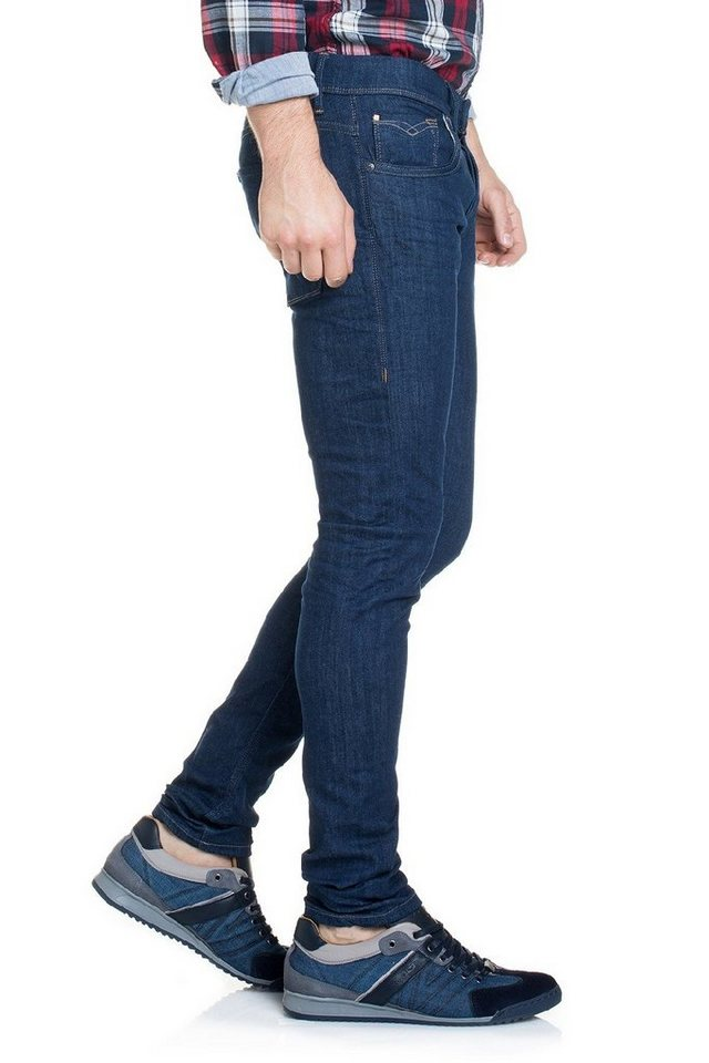salsa jeans Jean »Clash« in Blue