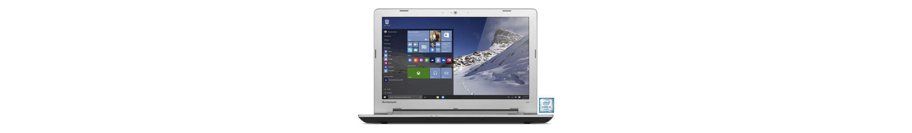"LENOVO IdeaPad 500-15ISK Notebook »Intel-Core i5, 39,6cm (15,6""), 1 TB, 4 GB«"