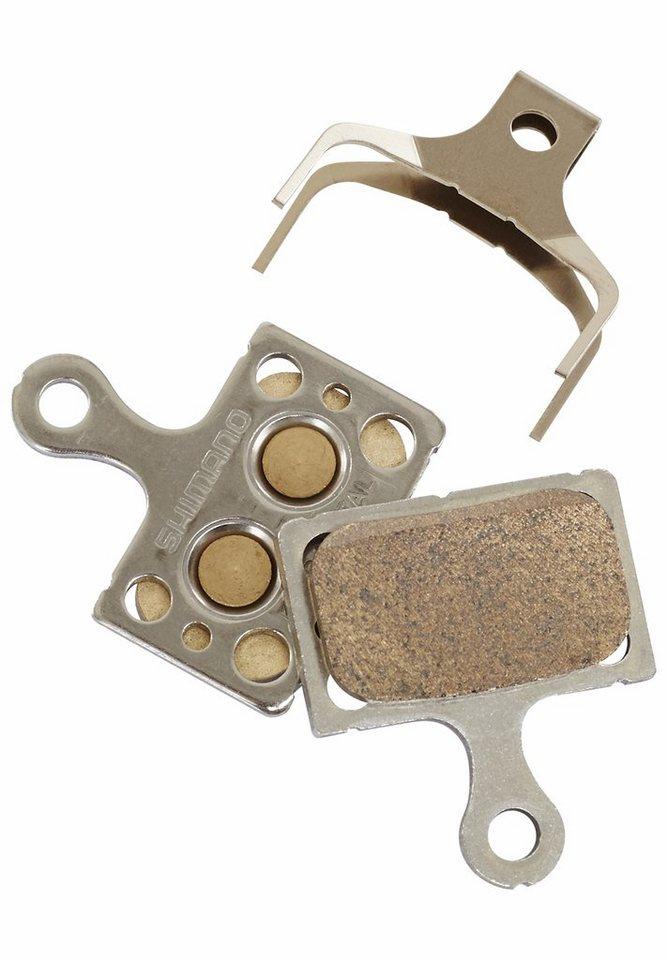 Shimano Bremsbelag »K04S Scheibenbremsbelag Metall«