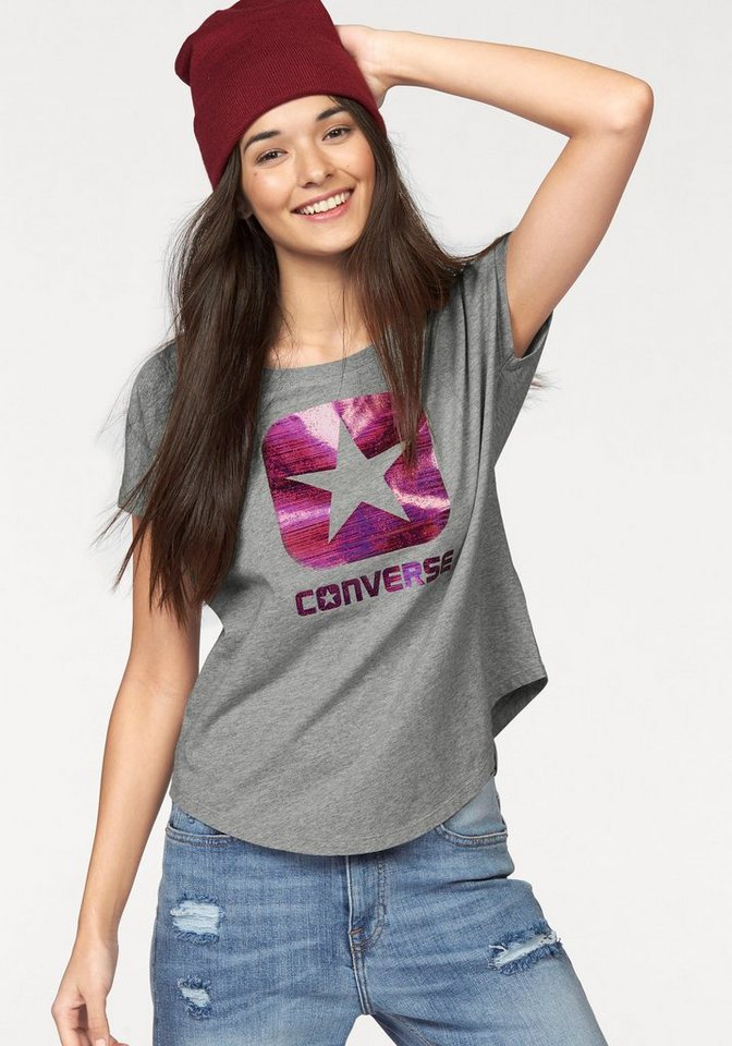 Converse T-Shirt in Grau