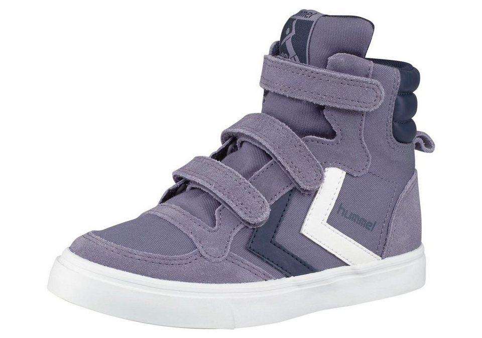 Hummel Stadil Canvas Junior Sneaker in Flieder-Lila
