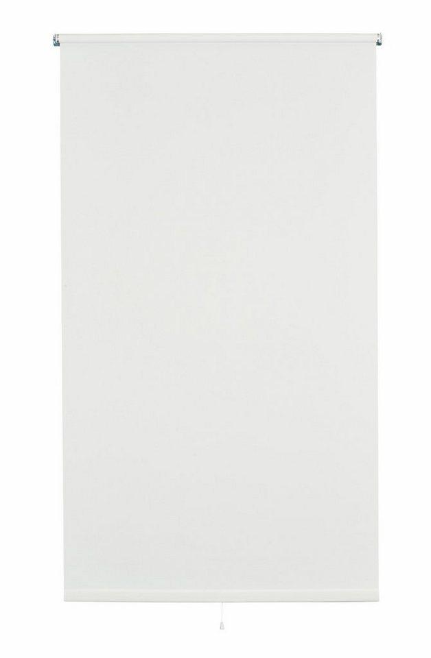 Springrollo, Sunlines, »Uni«, im Fixmaß (1 Stück), Lichtschutz in weiß