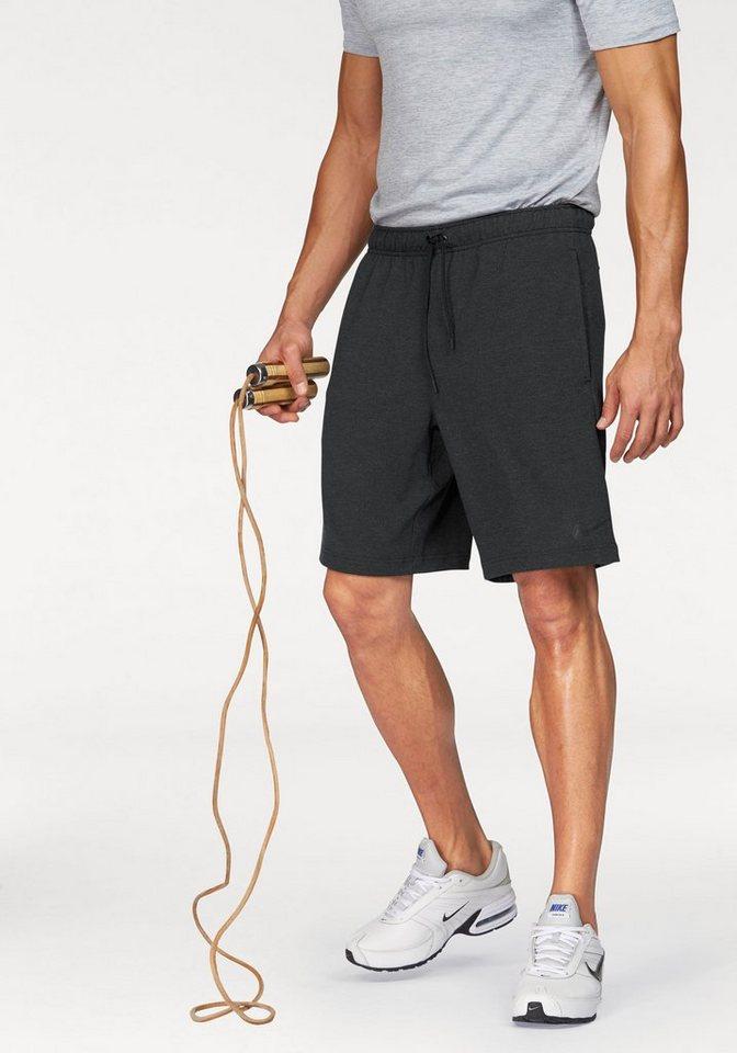 """Nike DRI-FIT TRAINING FLEECE 8"""" SHORT Shorts in Schwarz-Meliert"""