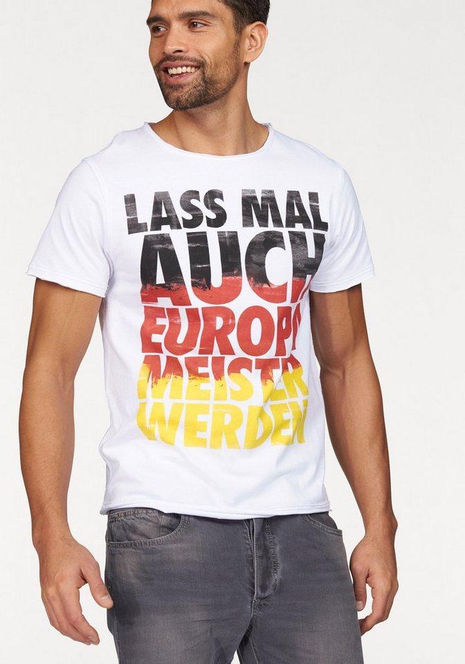 Dirts EM16 VINTAGE T-SHIRT T-Shirt in Weiß