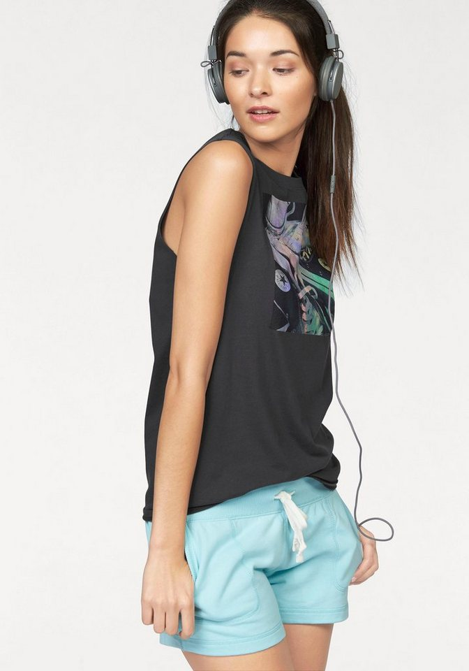 Converse Tanktop in Anthrazit