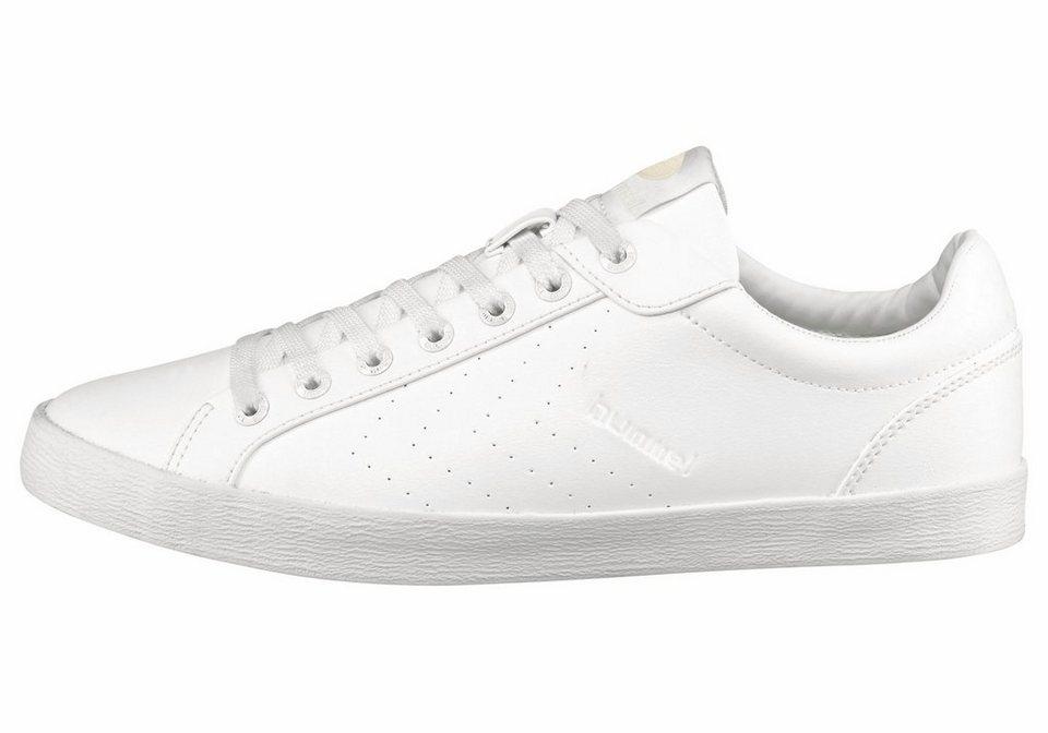Hummel Deuce Court Tonal Sneaker in Weiß