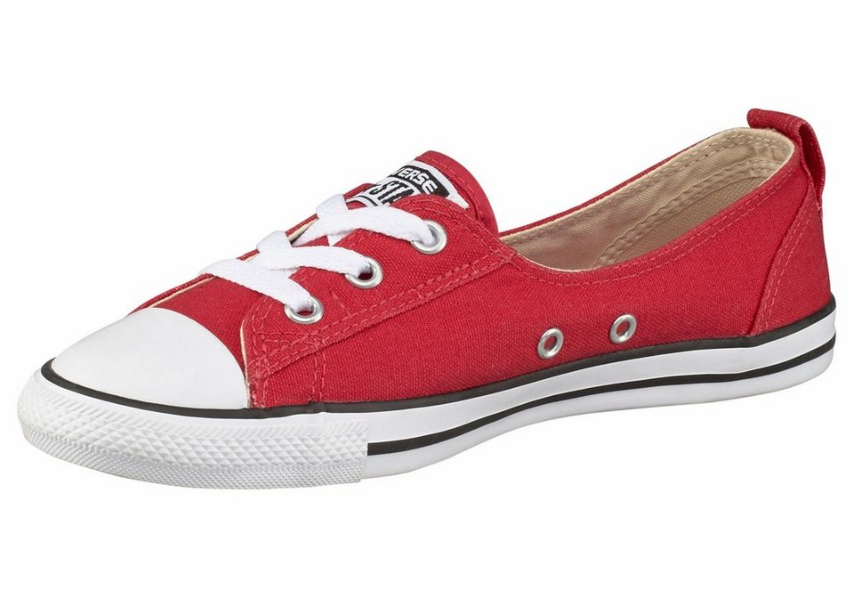Converse CT All Star Ballet Lace Ox Sneaker in Rot