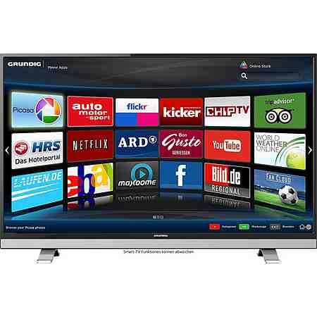 Grundig 55VLE8520BL, LED Fernseher, 139 cm (55 Zoll), 1080p (Full HD), Smart-TV