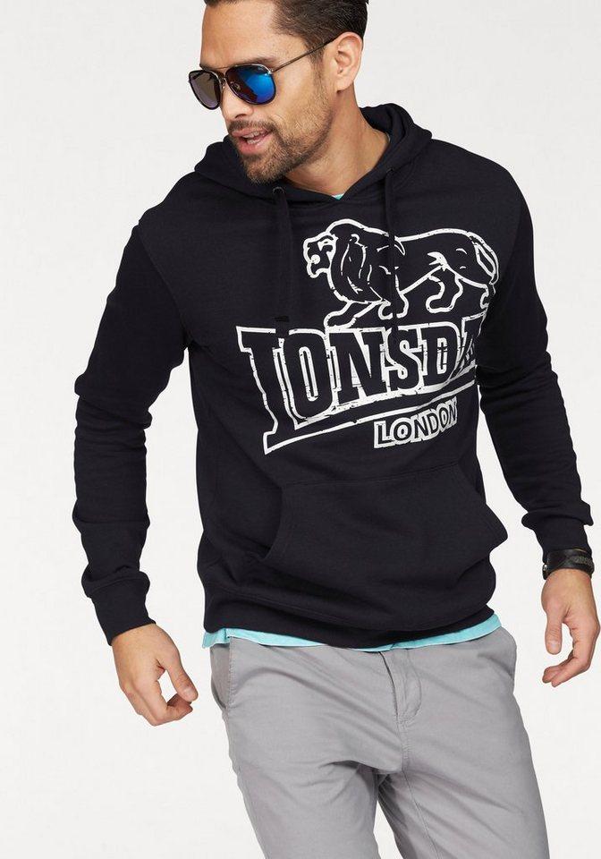 Lonsdale Sweatshirt in Schwarz
