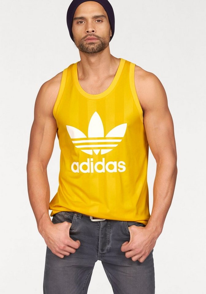 adidas Originals Muscleshirt in Gelb