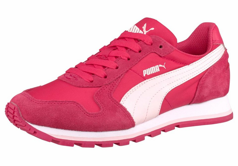 PUMA ST Runner Sneaker in Pink-Rosa-Rot
