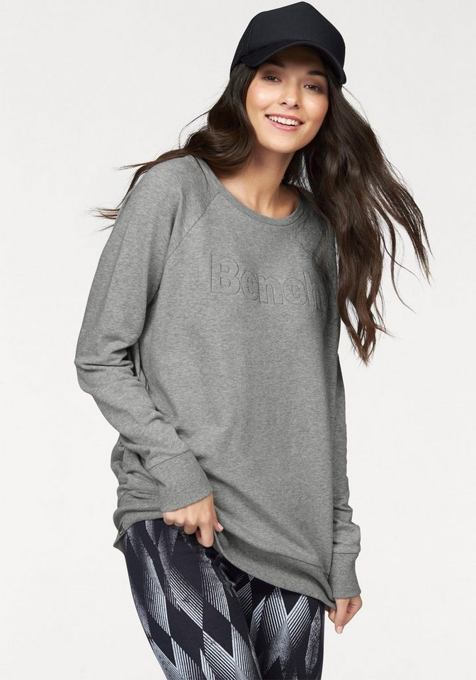 Bench Performance Sweatshirt in Grau