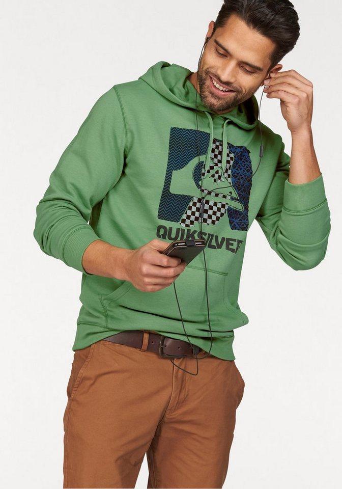Quiksilver Kapuzensweatshirt in Grün