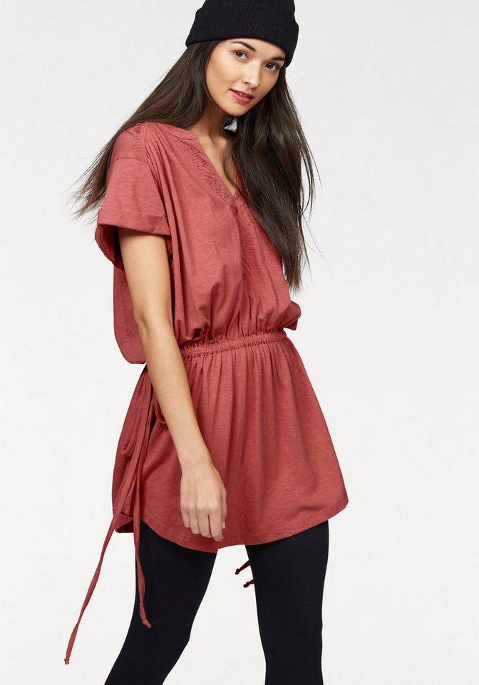 Roxy Jerseykleid in Rost