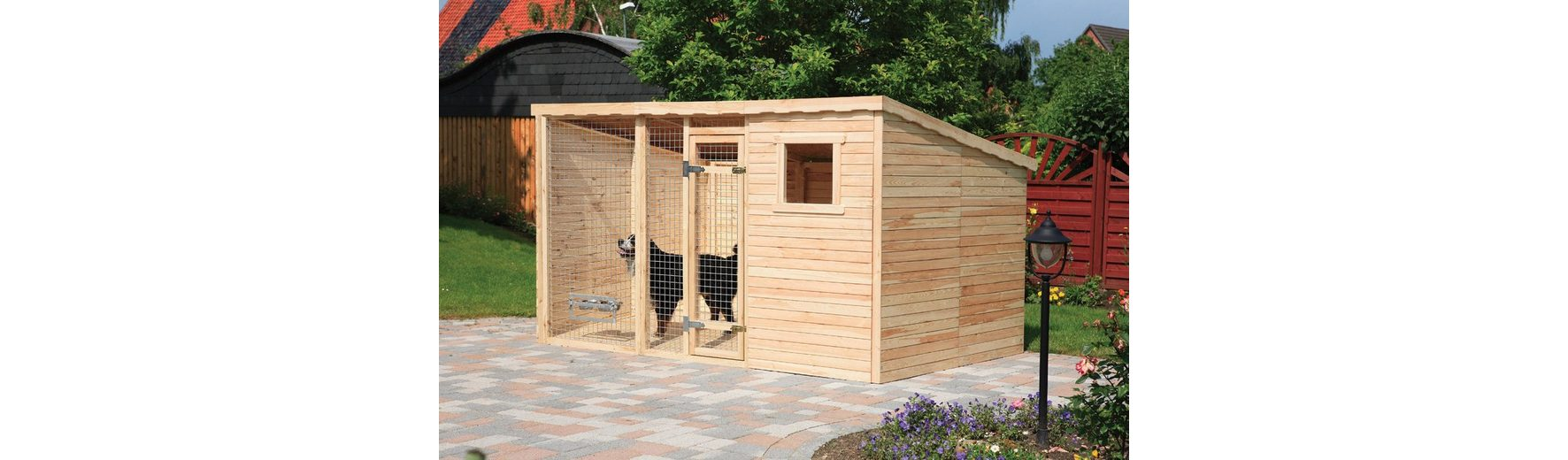 Hundezwinger, Grundfläche: 11,0 m², inkl. Fußboden