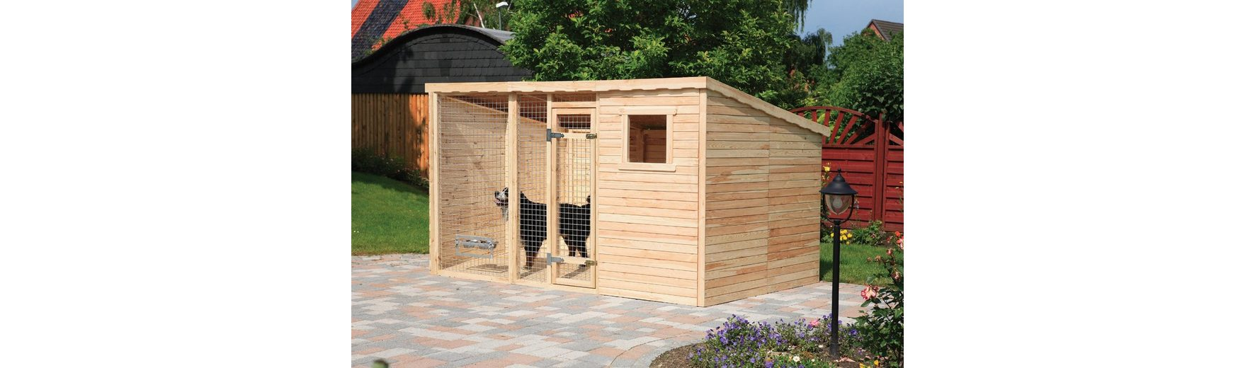 Hundezwinger, Grundfläche: 8,8 m²