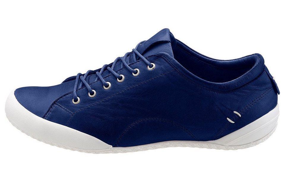 Eddie Bauer Leder-Sneaker in Navy
