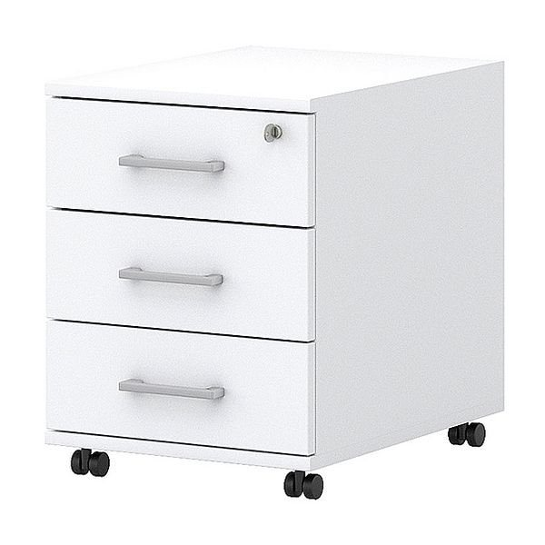 Rollcontainer in weiß