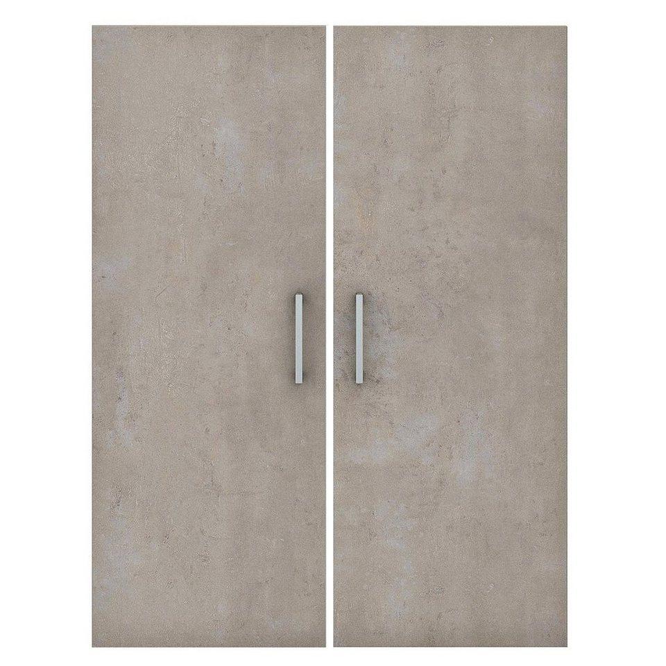 Türen-Set in Beton