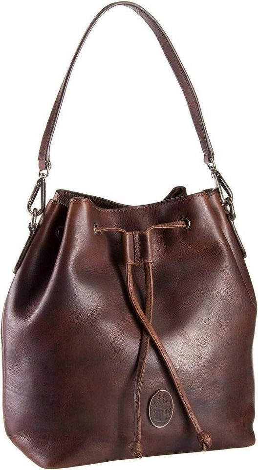Leonhard Heyden Lucca 6380 Hobo Bag in Braun
