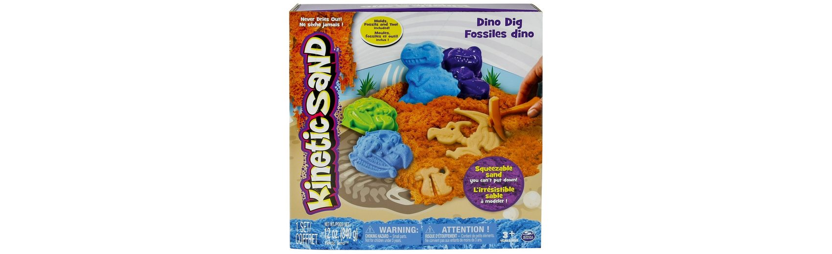 Spin Master Kinetic Sand Dino Ausgrabungsset