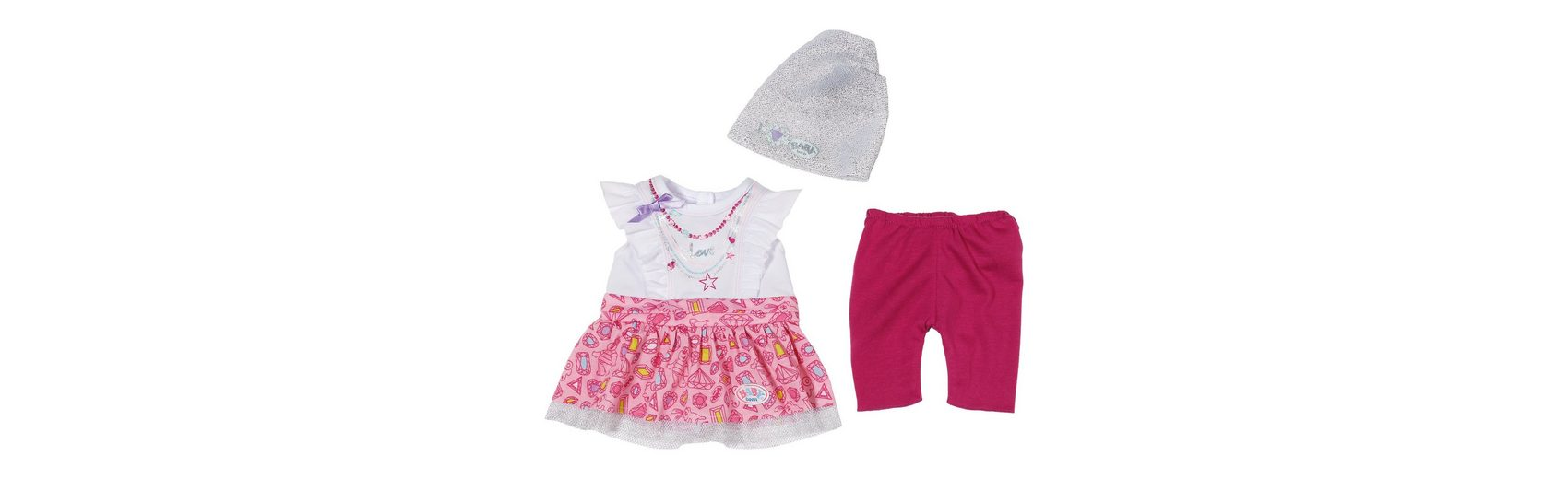 Zapf Creation BABY born® Fashion Kollektion Puppenkleidung T-Shirt, Rock,