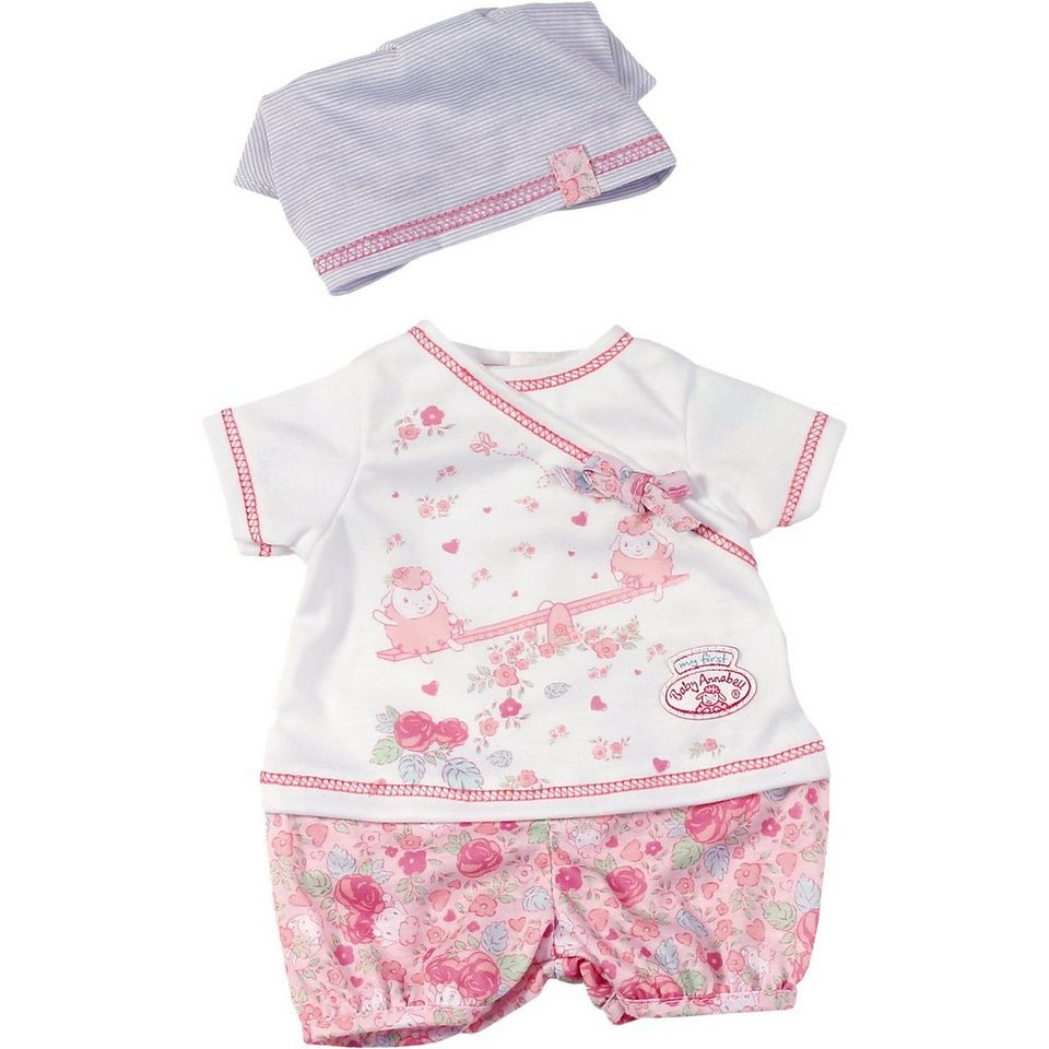 Zapf Creation my first Baby Annabell® Puppenkleidung Tagesoutfit, 36 cm