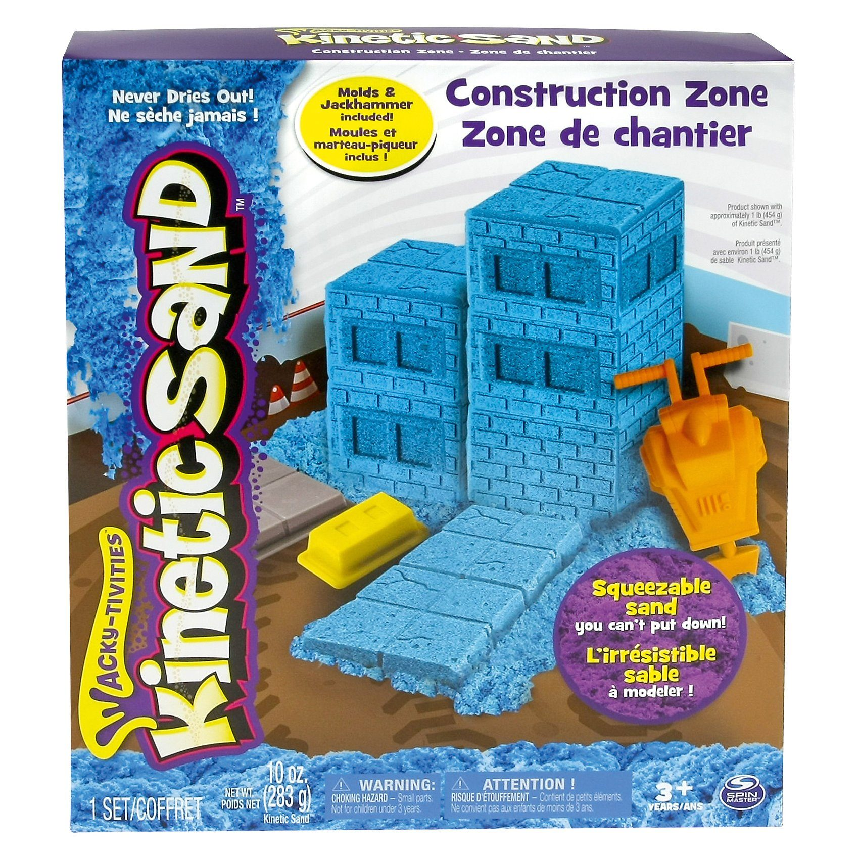 Spin Master Kinetic Sand Construction Zone Set