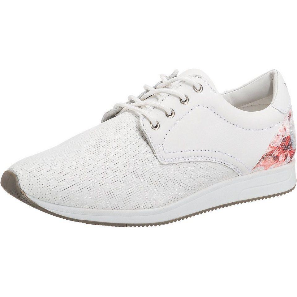 bugatti Sneakers in weiß-kombi
