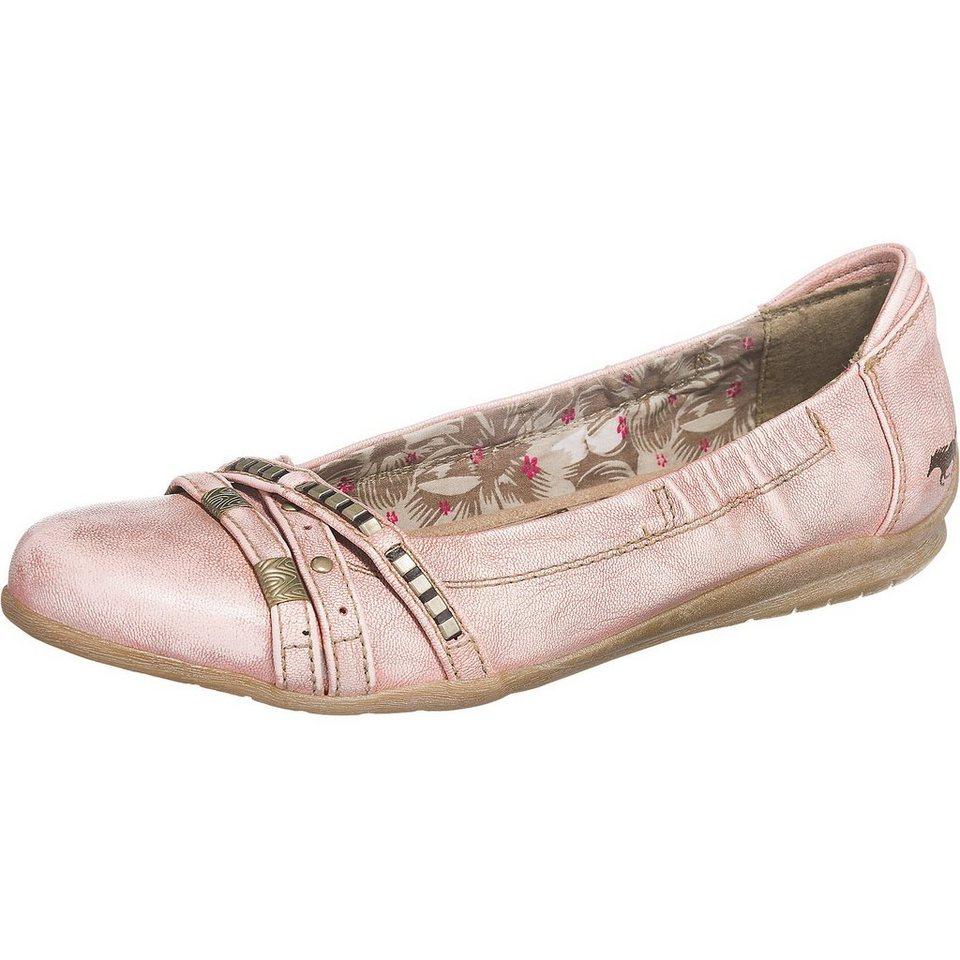 MUSTANG Ballerinas in rosa