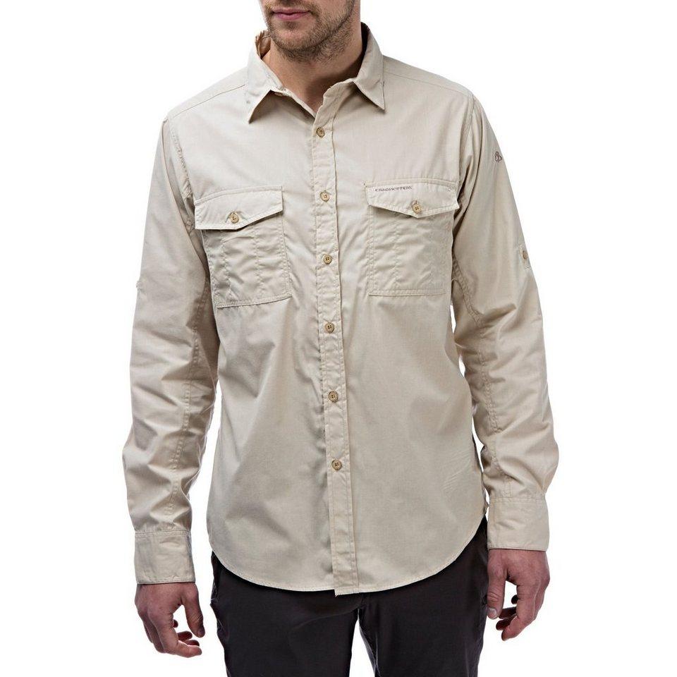 Craghoppers Langarm Hemd »Kiwi « in Oatmeal
