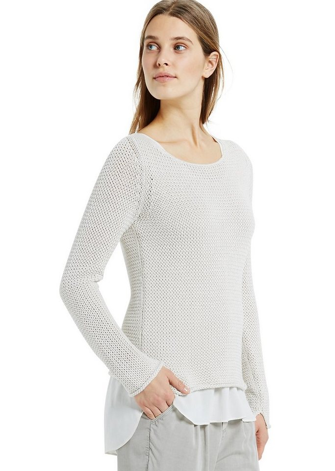 Marc O'Polo Pullover in 149 cloud dancer
