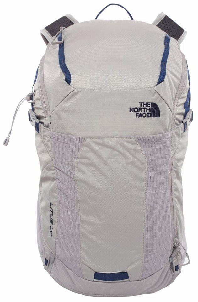 The North Face Sport- und Freizeittasche »Litus 22-Rc Backpack S/M« in silber