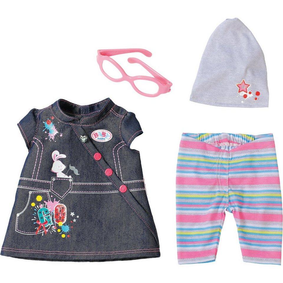 Zapf Creation BABY born® Deluxe Jeans Kollektion Kleid, 43cm