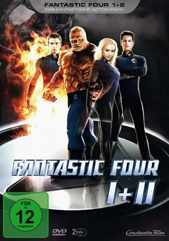 DVD »Fantastic Four 1+2«