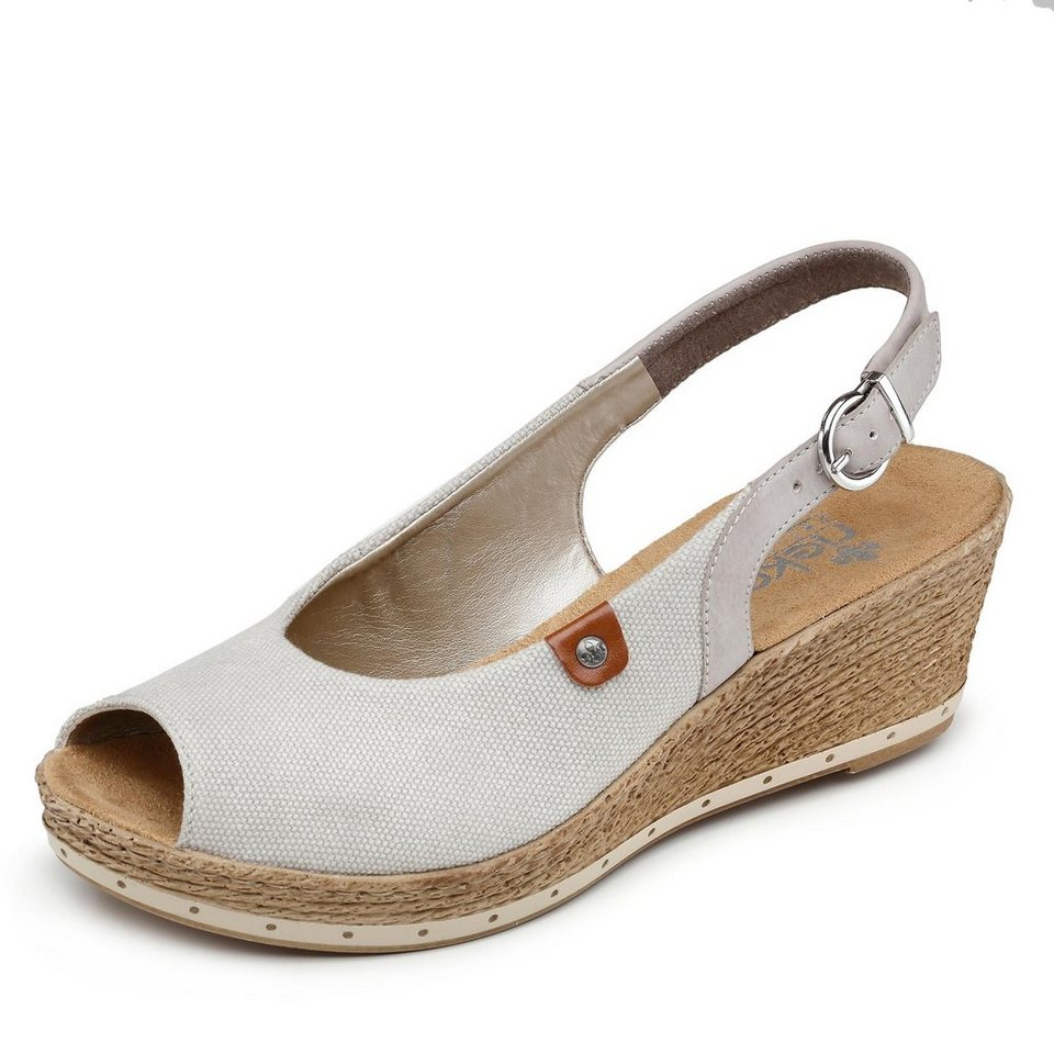 Rieker Sandalette in beige