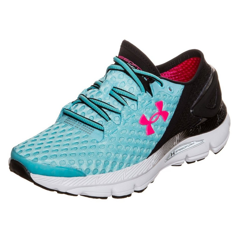 Under Armour® SpeedForm Gemini 2 Laufschuh Damen in hellblau / schwarz