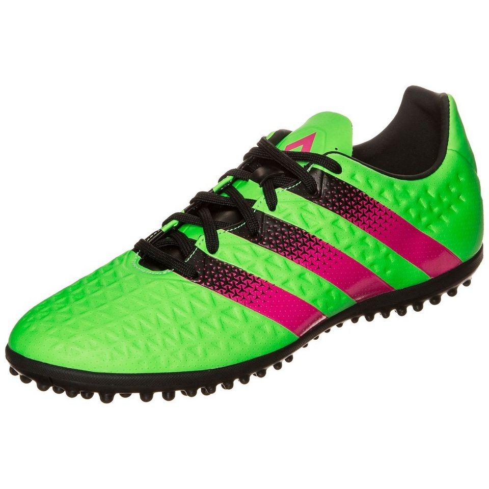 adidas Performance ACE 16.3 TF Fußballschuh Herren in grün / pink