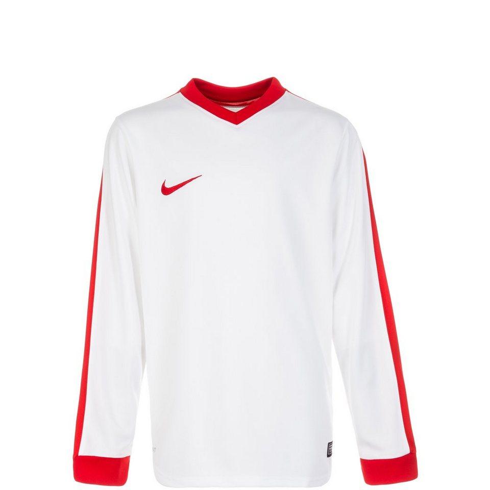 NIKE Striker IV Fußballtrikot Kinder in weiß / rot