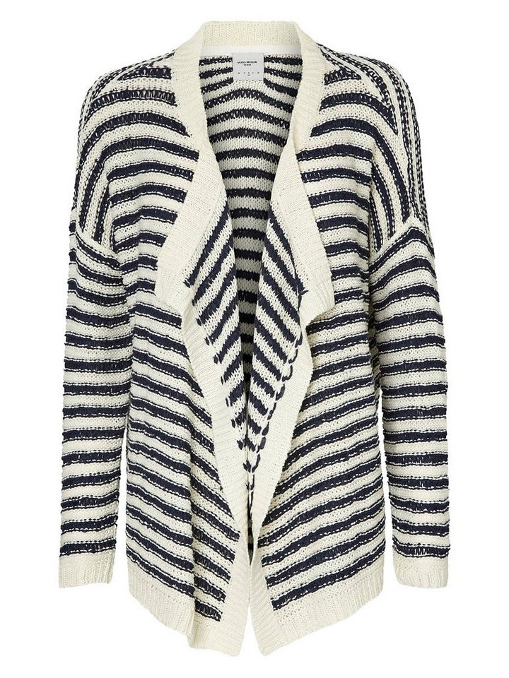 Vero Moda Drapierte Strickjacke in Snow White