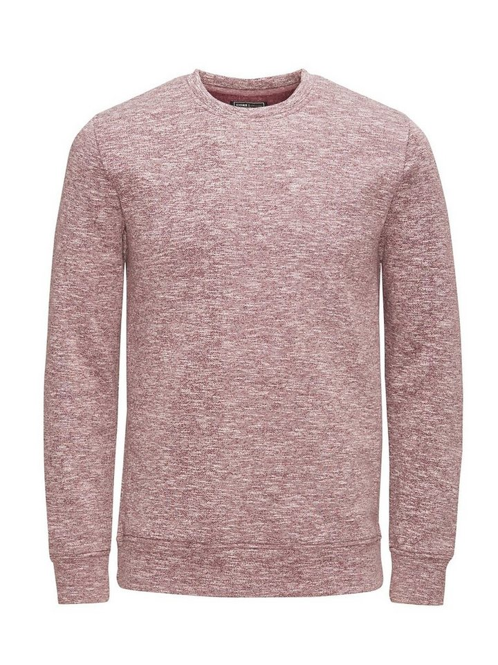 Jack & Jones Vielseitiges Melange- Sweatshirt in Fig 2