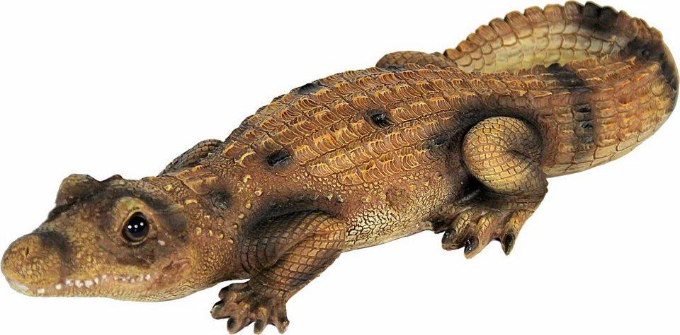 Home affaire Dekofigur »Krokodil, braun« in braun